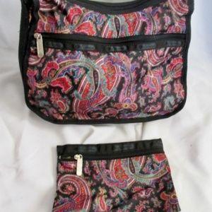 LESPORTSAC Nylon shoulder bag purse crossbody set